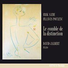 ERIK SATIE, FRANCIS POULENC: LE COMBLE DE LA DISTINCTION NEW CD
