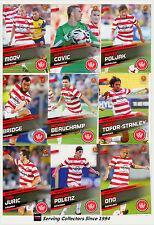 2013-14 Select A League Soccer Card Base Team Set Western Sydney Wanderers (10)