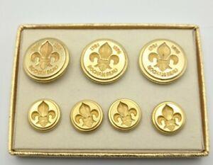 Rochambeau 1781 - 1976 War Bicentennial Waterbury Button Set