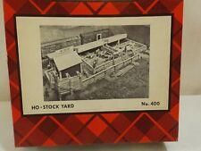 HO Campbell #400 stock yard in original box