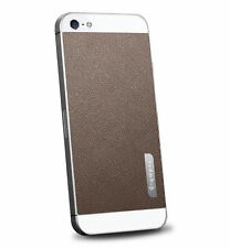 SPIGEN SGP APPLE iPhone 5/5s Skin Guard Set Series Leather Brown SGP09567