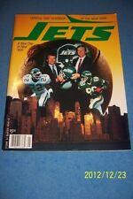1990 NEW YORK JETS Yearbook KEN O'BRIEN Bruce COSLET AL TOON Dennis BYRD McNeil