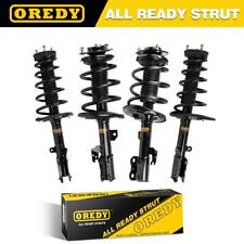 4x Quick Complete Struts Shocks & Spring Coils w/ Mounts For Toyota Camry 07-11
