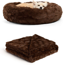 New listing Best Friends by Sheri the Original Calming Donut Cat and Dog Bed in Shag or Lux