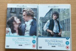 Emily Bronte's Wuthering Heights Episodes 1-5 In 2 Dvds Certificate 12