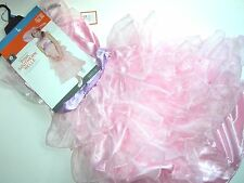 NWT NEW L 10-12 Halloween Costume Southern Bell Dress Pink Girl Child Youth