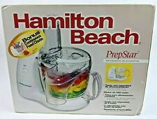 Hamilton Beach PrepStar 8 Cup 350 Watt Food Processor 70550R-New Factory Sealed!