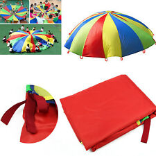 2M Kids Play Rainbow Parachute Outdoor Game Development Exercise Group Activitie