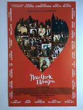 NEW YORK, I LOVE YOU 11x17 PROMO D/S MOVIE POSTER