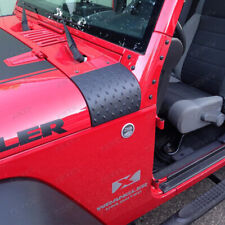 2X Cowl Body Armor Cover Trim Exterior Accessories for 2007-18 Jeep Wrangler Jk (Fits: Jeep)