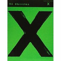 Ed Sheeran: X - Arranged For Piano, Vocal & Guitar