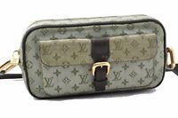 Auth Louis Vuitton Monogram Mini Juliet MM Shoulder Bag Khaki LV A5376