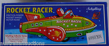 SPACE ROCKET TIN TOY WITH CLACK CLACK FRICTION MOTOR SCHYLLING  REPRODUCTION TOY