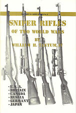 Sniper Rifles of Two World Wars Booklet No.4 T Springfield 1903 Rifle WW2 WW1