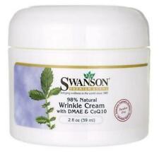Swanson Premium Wrinkle Cream With DMAE & CoQ10  2 FL Oz