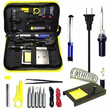 Irons Magento's Superb 14 Pieces Set Adjustable Temperature Soldering Iron Kit