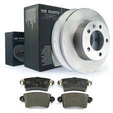 Bremsscheiben 305mm voll Bremsbeläge hinten für Nissan Interstar Opel Movano