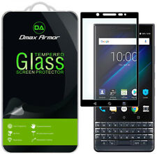 2X Dmax Armor for BlackBerry KEY2 LE Tempered Glass Full Cover Screen Protector