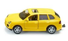 Porsche Cayenne Turbo Yellow Siku Super 1062 1:55 Diecast Toy Car