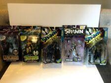 Spawn Lot Action Figures 95-01 Grave Digger, Gate Keeper, Domina, Angela Pilgrim