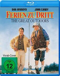 The Great Outdoors (1988) Blu Ray Import Region B New & Sealed
