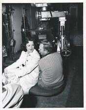HEDY LAMARR Cameraman JAMES HARPER Original CANDID Studio Set Vintage MGM Photo