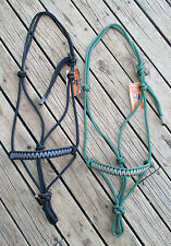 Professionally Made Rope Halters With Braided Nose-Workshop Clearance