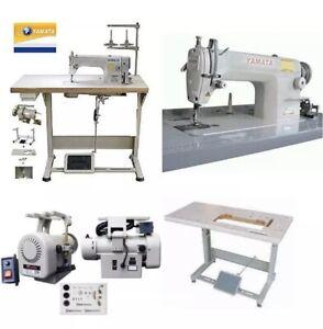 Yamata FY8700 Lockstitch Straight stich sew machine Servo Motor +Table DDL8700