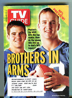 TV Guide Magazine September 5-11 2004 Peyton Eli Manning NFL EX 062816jhe