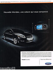 PUBLICITE ADVERTISING 065  2008  FORD  MONDEO