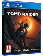 SHADOW OF THE TOMB RAIDER PS4 VIDEOGIOCO ITALIANO GIOCO UK PLAYSTATION 4 NUOVO