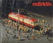 MARKLIN GAUGE 1 HO & Z MODEL RAILWAYS 1980 PRODUCT RANGE CATALOGUE (DUTCH TEXT)
