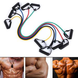 Exercise Resistance Band Elastic Pilates Tube for Gym Yoga Fitness WorkouYUHF