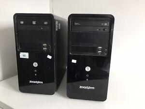 2x Zoostorm Pc's Intel Core i3-4170 6GB Ram Nvidia GeForce GT 610