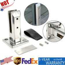 Standing Glass Clamp Fits 12mm Fence Balcony Pool Spigots Post Balustrade Clamp