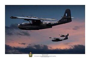 "WWII WW2 RAAF PBY Catalina Pacific Aviation Art Photo Print - 12"" X 18"""