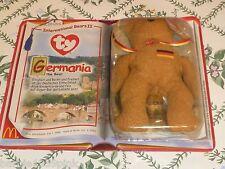 McDonald Ty Germania Bear New in Original Box