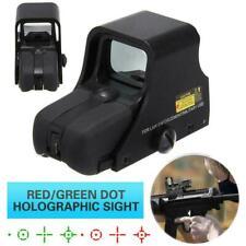 Táctico Holográfica Reflex Rojo/Verde Dot551 Airsoft alcance vista al aire libre caza