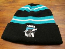 Port Adelaide Power beanie woolly hat AFL Aussie Rules Football footie