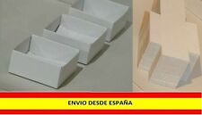 5 Cajitas 4x4 cm Minerales de Colección. Mineral Boxes. Caja cartón blanco.