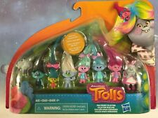 "Dreamworks Trolls 2"" figures Walmart Exclusive: True Friends Collection NEW"