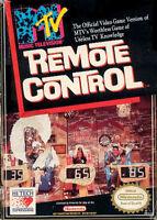 Nintendo NES MTV Remote Control Game Cartridge For Nintendo NES Vintage 0E