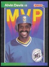 1989 Donruss Bonus MVP's #BC25 Alvin Davis Seattle Mariners