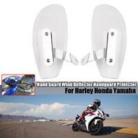 Motorcycle Hand Guard Wind Deflector Handguard Protector For Harley Honda Yamaha
