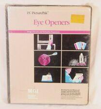 NOS IBM MGI Eye Openers for PC Storyboard Desktop Computer PC Software 5150-5170