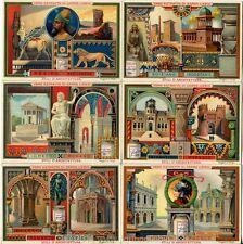 Chromo Liebig Sang. 575 ITA Stili d'Architettura II ANNO 1898
