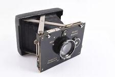 【RARE!】 Plaubel Baby Makina I 1920s 4.5x6cm Anticomar 7.5cm f/2.8 Lens WORKS V15