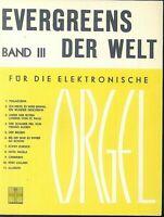 EVERGREENS DER WELT Band III