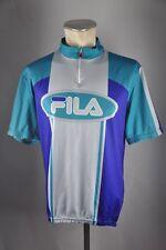 FILA 90er vintage Rad Trikot Gr. XL 58cm Bike cycling jersey Shirt G6 d77913533
