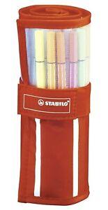 STABILO Point 68 Rollerset Trousse A Rouleau De 30 Couleurs Cod. 6830-02
